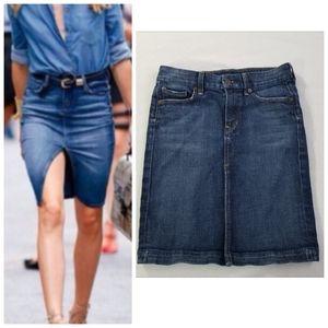 Citizens of Humanity Sophia #300 jean skirt 25 0